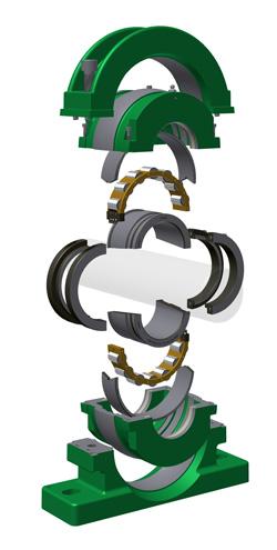 split-bearing