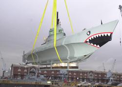 World War 2 Refurbished submarine