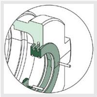 Revolvo-triple-labyrinth-seal